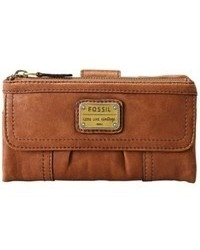 Fossil Emory Leather Clutch