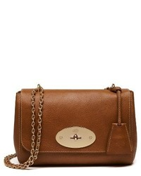 Mulberry Lily Convertible Leather Crossbody Clutch Brown