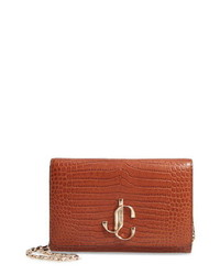 Jimmy Choo Varenne Leather Clutch
