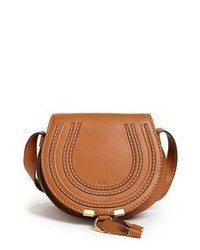 Tobacco Leather Crossbody Bag