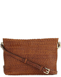 Cole Haan Benson Woven Leather Crossbody Bag