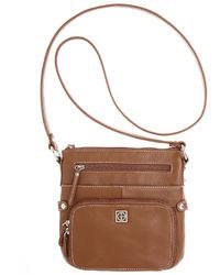Bernini Giani Handbag Pebble Leather Crossbody Bag Small