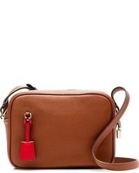 J.Crew Signet Leather Crossbody Bag Green
