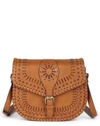 Sole Society Kianna Perforated Faux Leather Crossbody Bag 2c1040e66d073