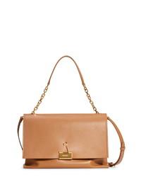 Off-White Large Binder Clip Leather Shoulder Bag