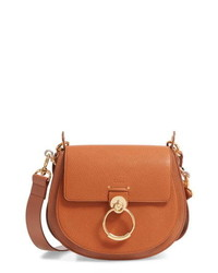 Chloé Large Tess Ed Leather Shoulder Bag