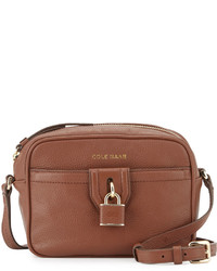 Cole Haan Locklyn Leather Crossbody Bag Sequoia