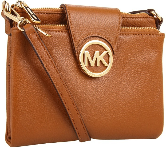 300ce022d245 ... Leather Crossbody Bags MICHAEL Michael Kors Michl Michl Kors Fulton  Large Crossbody ...