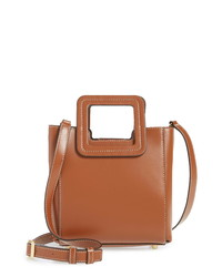 Staud Mini Shirley Genuine Shearling Satchel