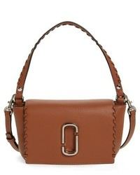 Marc Jacobs Noho Leather Crossbody Bag Brown