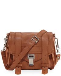 Proenza Schouler Ps1 Leather Crossbody Bag Brown