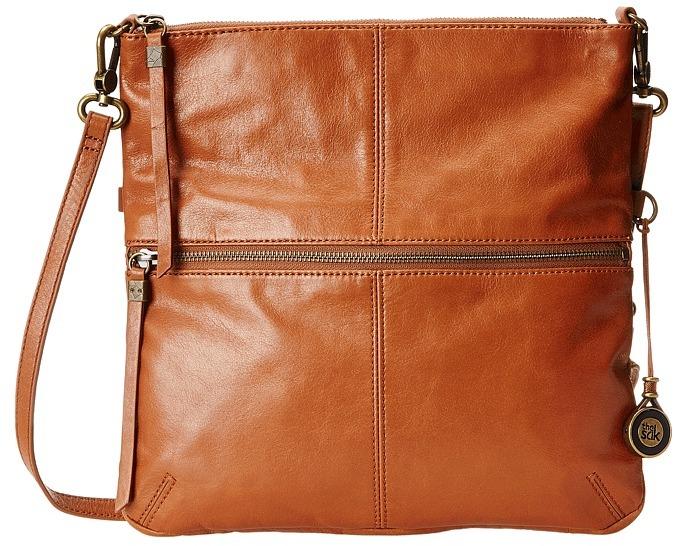 Leather Crossbody Bags The Sak Sanibel Foldover