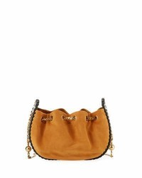Marc Jacobs Sway Leather Woven Crossbody Bag