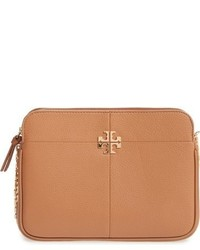 Tory Burch Ivy Leather Crossbody Bag Red