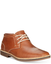 Kenneth Cole Reaction Desert Sun Leather Chukka Boots Shoes