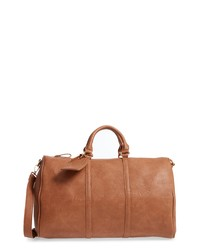 Tobacco Leather Duffle Bags for Women   Women s Fashion   Lookastic.com a057d7c847