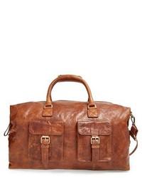 Rawlings Sports Accessories Rawlings Rugged Leather Duffel Bag