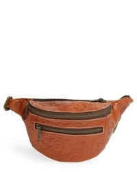 Tobacco Leather Fanny Pack