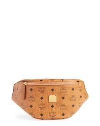 MCM Small Canvas Belt Bag