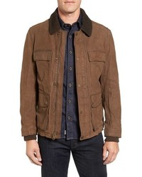 Timberland Tenon Nubuck Leather Field Jacket
