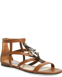 ed6e32bae8c Sartore Studded Flat Gladiator Sandals Out of stock · Jimmy Choo Jeweled Gladiator  Sandal