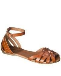 Mossimo Supply Co Shauna Huarache Sandal Cognac 85