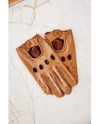 UO Profound Sthetic Leather Full Driving Glove