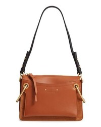 Tobacco Leather Handbag