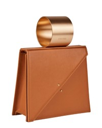 D ESTREE Destree Ettore Cuff Handle Leather Bag