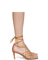 Stella McCartney Brown Heeled Sandals