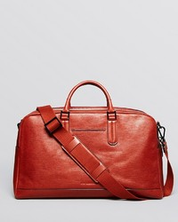 Tobacco Leather Holdall
