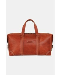 Tommy Bahama Leather Duffel Bag Brown