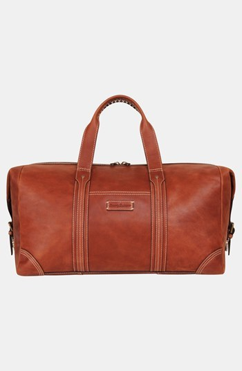 7cb84d884a Tommy Bahama Leather Duffel Bag Brown, $400 | Nordstrom | Lookastic.com