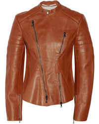 Tobacco Leather Jacket