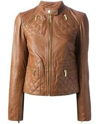 MICHAEL Michael Kors Michl Michl Kors Slim Fit Leather Jacket