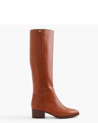 J.Crew Leather Knee Boots