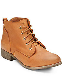 Steve Madden Rubin Leather Ankle Bootscognac
