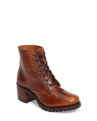 Frye Sabrina 6g Lace Up Boot