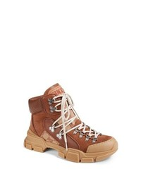 Gucci Lace Up Boot