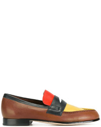 Paul Smith Block Panel Loafers