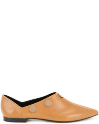 Pierre Hardy Penny Pointed Toe Loafers