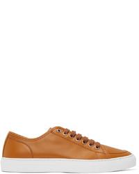 Brioni Tan Classic Sneakers