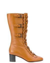 Chloé Orson Calf Length Boots