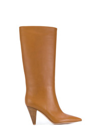 Gianvito Rossi Pointed Mid Calf Boots