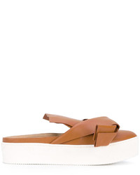 No.21 No21 Oversized Bow Mules