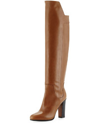 Vince Dempsey Leather Over The Knee Boot