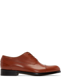 Paul Smith Brown Leather Oxfords