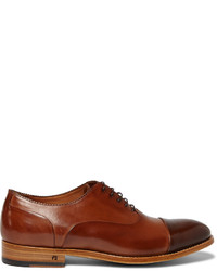 Paul Smith Shoes Accessories Adrian Leather Oxford Shoes