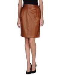 Ermanno Scervino Leather Skirts