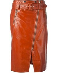 Jason wu leather pencil skirt medium 98640